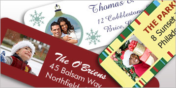 Photo Return Address Labels