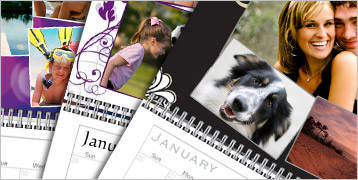 Photo Collage Wall Calendars